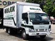 whit arlex oil truck