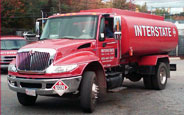 interstate gas and oil truck